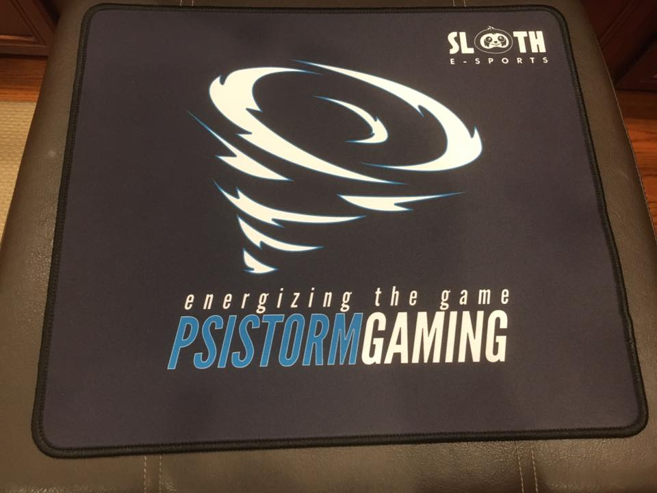 PSISTORM Branded Gaming Mat is here
