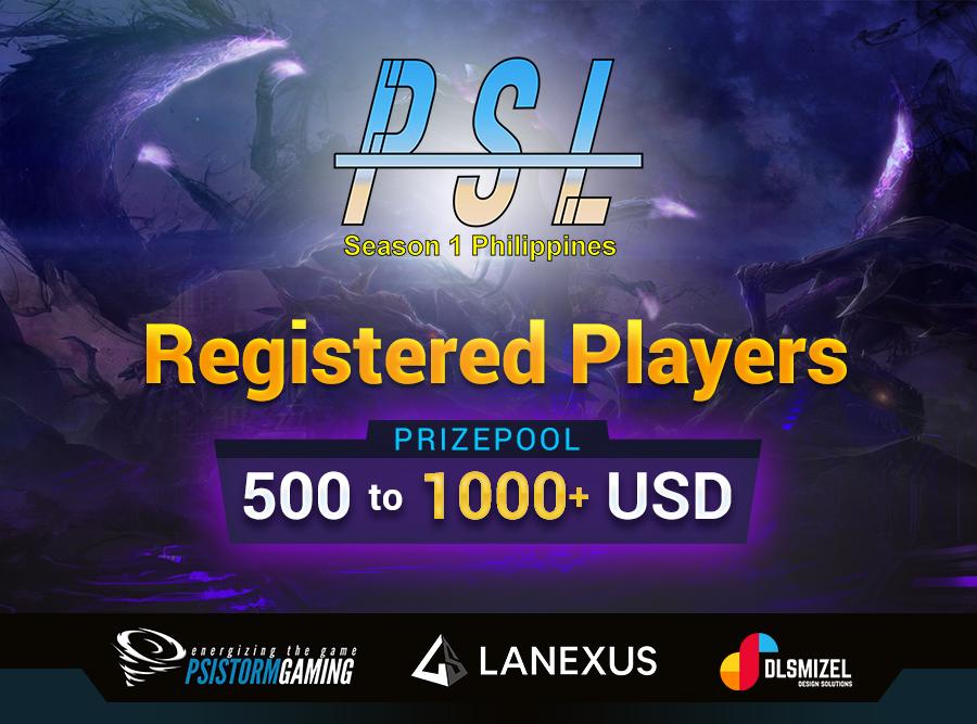 PSL1 Player List